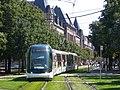 Strasbourg - Straßenbahn - Rasengleisabschnitt.jpg