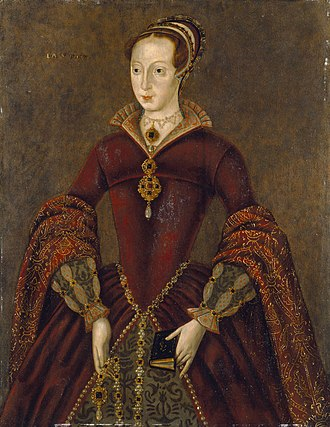 Lady Jane Grey - The Streatham portrait, discovered at the beginning of the 21st century and believed to be a copy of a contemporaneous portrait of Lady Jane Grey