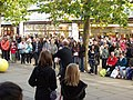 Street entertainers out in force - geograph.org.uk - 2141232.jpg