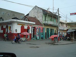Street view in Cap Haitien, Haiti