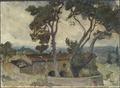 Study from Spoleto, Italy (Anna Boberg) - Nationalmuseum - 20538.tif