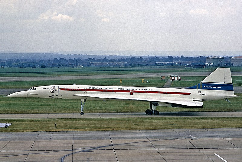 ファイル:Sud-BAC Concorde, British Aircraft Corporation - Aerospatiale France AN1804818.jpg