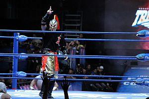 Takuya Sugi - Sugi in an AAA event.