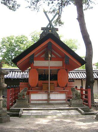 Sumiyoshi-zukuri - Sumiyoshi Taisha's Funatama Jinja