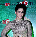 Sunny Leone at the 2014 Times Food and Nightlife Awards.jpg