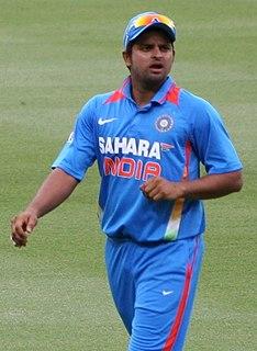 Suresh Raina Indian cricketer