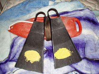 Swimfin - Swimfins designed for bodyboarding or bodysurfing.