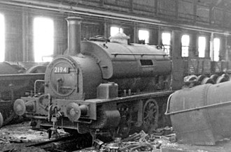 BP&GV 4 Kidwelly and 5 Cwm Mawr - 2194 being scrapped at Swindon Works