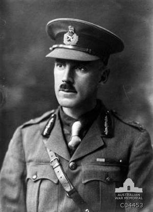 Sydney Herring - Portrait of Brigadier General Herring, DSO, commander of the 13th Australian Infantry Brigade