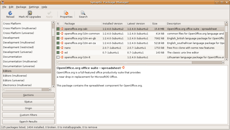 Debian-facile 800px-Synaptic_Package_Manager