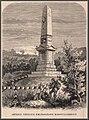 Székely vértanúk emlékoszlopa Marosvásárhelyt. Vasárnapi Ujság, 1875.jpg