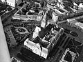 Szabadka 1941, légifotó a Városházával. Fortepan 31227.jpg