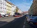 Táborská, zastávka Nuselská radnice, tramvaj.jpg