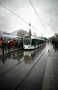 Inauguration of the T3 tramway line on the 16th of December, 2006