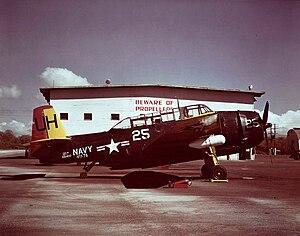 VC-7 - Image: TBM 3U NAS Barbers Point 1948
