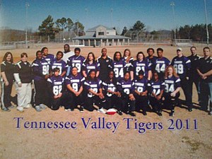 Tennessee Valley Tigers Women's Semi Pro Football