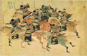 Mōko Shūrai Ekotoba - Image: Tagezaki Suenaga,Ekotoba 5