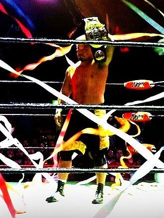 Takashi Sugiura - Takashi Sugiura as the GHC Heavyweight Champion in 2011