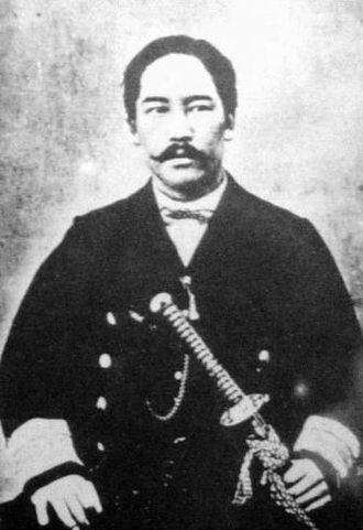 Hatamoto - Enomoto Takeaki, a hatamoto of the late Edo period