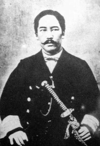 Hatamoto - Enomoto Takeaki, a hatamoto of the late Edo period