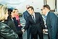 Tallinn Digital Summit. Airport arrivals HoSG Emmanuel Macron (36665680034).jpg