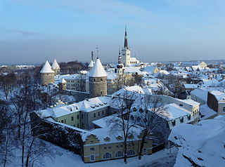 Tallinn City in Harju, Estonia