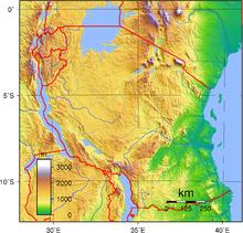 Geography of Tanzania - Wikipedia