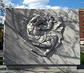 Taras Shevchenko Memorial - Relief.JPG