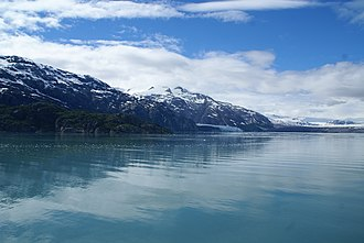 Glacier Bay Basin - Tarr Inlet near Margerie and Grand Pacific Glaciers