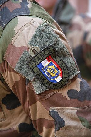 Brigade La Fayette - Brigade La Fayette shoulder patch