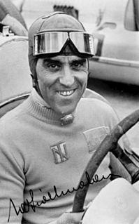 Tazio Nuvolari Italian racecar driver