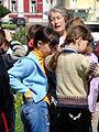 Teacher and Schoolchildren - Vladimir - Russia.JPG