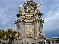 Teatro marmoreo fontana Filippo V lato dettaglio Palermo.jpg