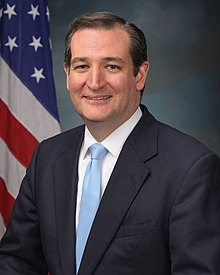 Portrait officiel de Ted Cruz, en 2013.