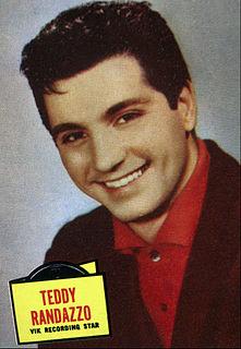 Teddy Randazzo American recording artist, music arranger and songwriter