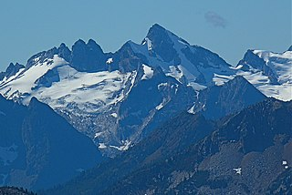 Sinister Peak mountain in United States of America