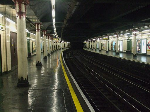 Temple station look anticlockwise