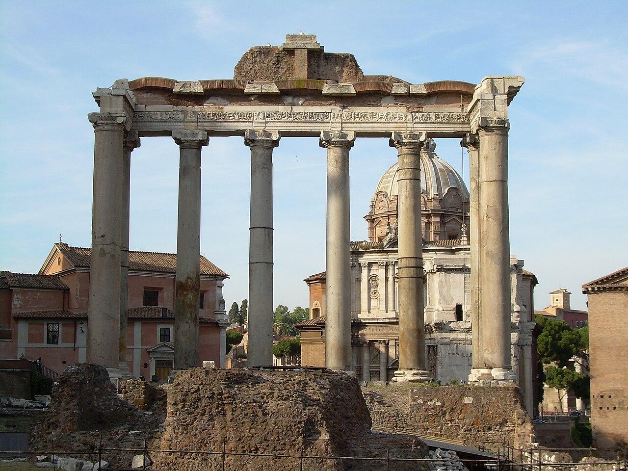 Templio di Saturno Roma.JPG