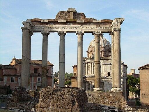 Templio di Saturno Roma