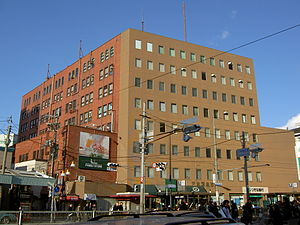 Tenjimbashisuji Rokuchōme Station - Tenroku Hankyū Building was the former Tenjinbashi terminal of Hankyu.