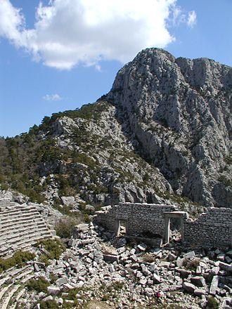 Taurus Mountains - Image: Termessos solymos 200603