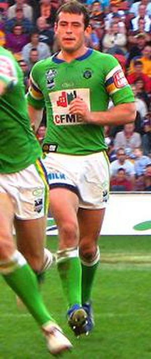 Terry Campese - Campese in action for Canberra