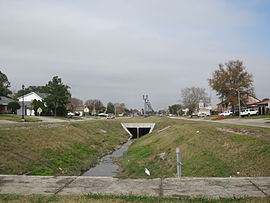 Terrytown Terry Parkway Canal Dec 2011.JPG
