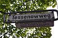 Tessenowweg in Hannover, Straßenschild mit Legende Prof. Heinrich Tessenow 1876-1950, Architekt, Vorkämpfer für eine moderne handwerksgebundene Sachlichkeit.jpg