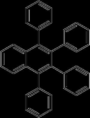 1,2,3,4-Tetraphenylnaphthalene - Image: Tetraphenylnaphthale ne