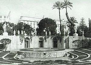 Théâtre de verdure de Nice - Théâtre de verdure de Nice in 1947