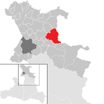Thalgau in the district SL.png