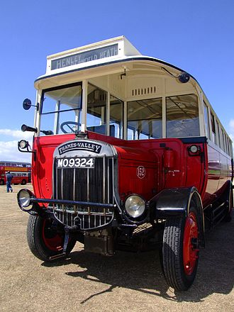 Tilling-Stevens - Thames Valley bus delivered 1927