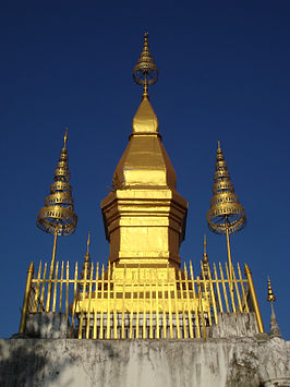 Stupa That Chomsi in Luang Prabang
