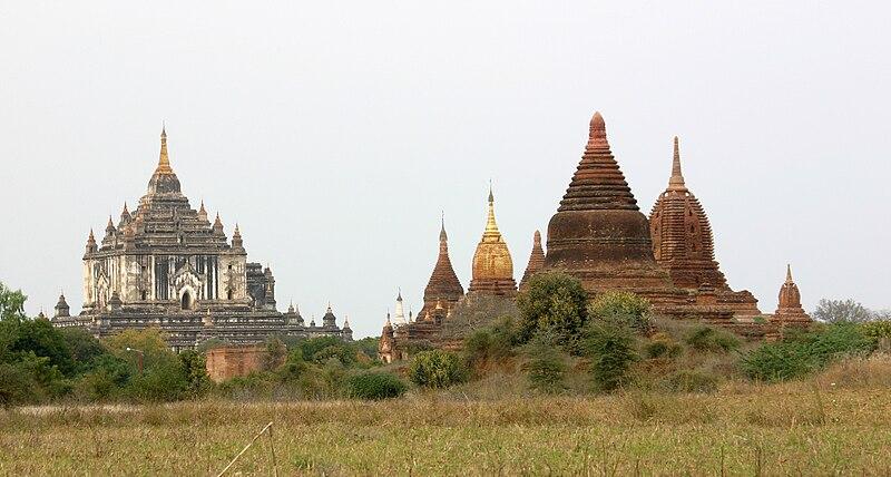 Wonderful Places In Asia Thatbyinnyu Temple Bagan